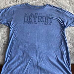 Mens made in Detroit shirt